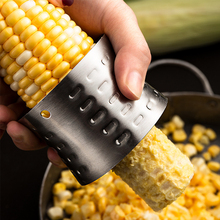 Knife Peeler Corn Kitchen-Accessories Stainless-Steel Round