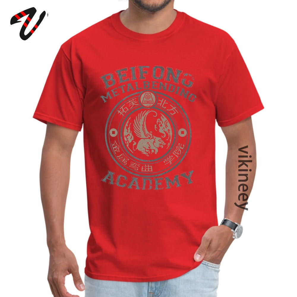 Leisure Tees Company Short Sleeve Mens Tshirts TpicOriginaltitle Funny ostern Day Tops T Shirt Round Collar Wholesale Beifong Metalbending Academy  Silver & Beige 6309 red