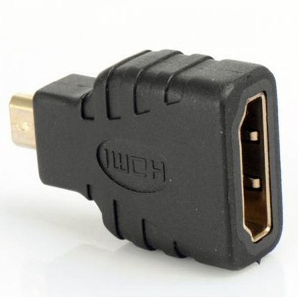 Hdmi-Adapter B-Model Raspberry Gold-Plated Male-To-Standard-Hdmi 1080P for Pi title=