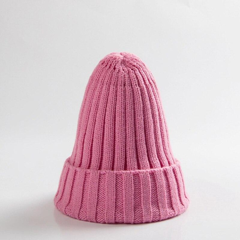 Knitted Kids Beanie Cap Infant Newborn Baby Boy Girl Hat Warm Childrenx Baby Autumn Winter Girls Hat For Kids Toddler Bonnet Cap 13