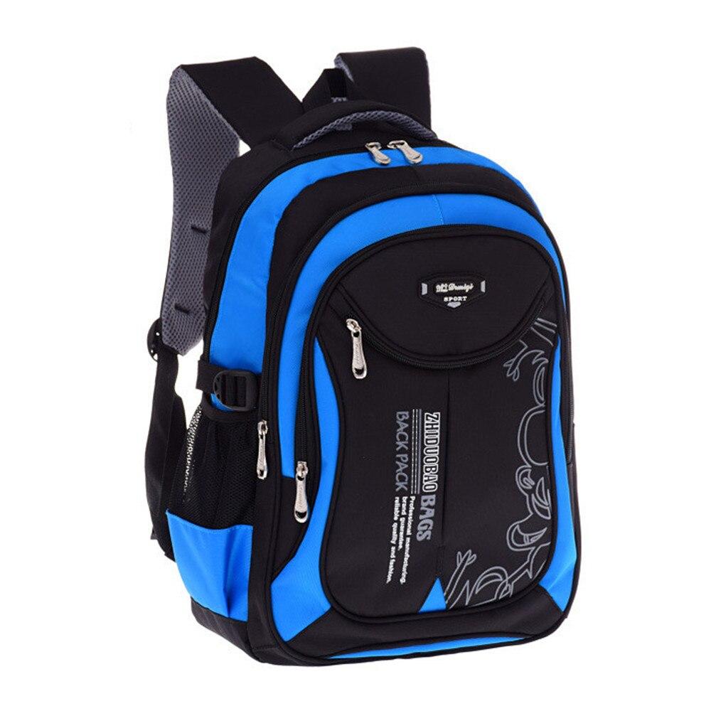 Orthopedic Kids School Bags Football Boys Backpack Kid Waterproof Primary School