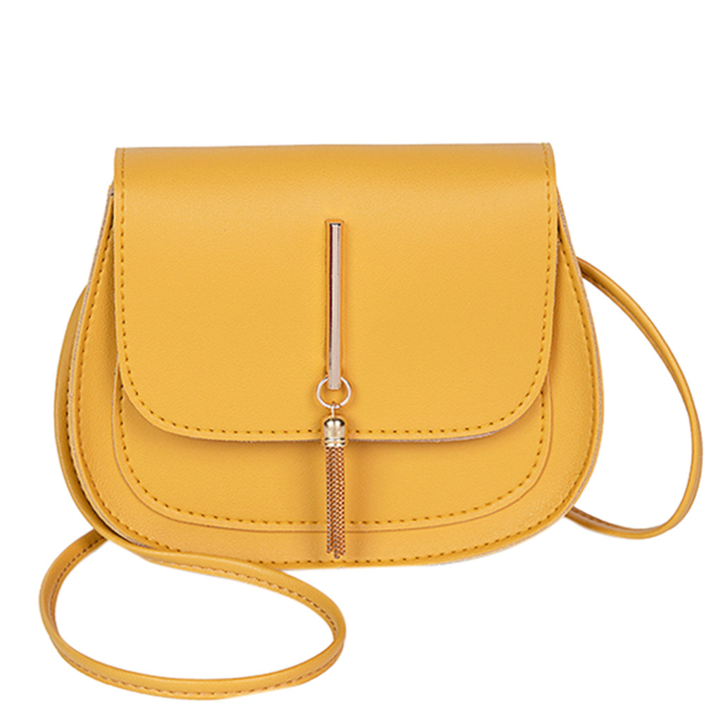 OCARDIAN Crossbody-Bags Messenger-Bag Ladies Purse Shoulder Small Girl Yellow Mini Fashion title=