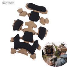 Protective-Pads Helmet-Accessories Suspension-Pads-Set Mt-Helmet Tactical-Sponge Soft