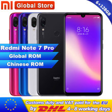 Xiaomi Redmi Note-7 Pro 128GB 6GB Quick Charge 4.0 Fingerprint Recognition 48mp New Smartphone