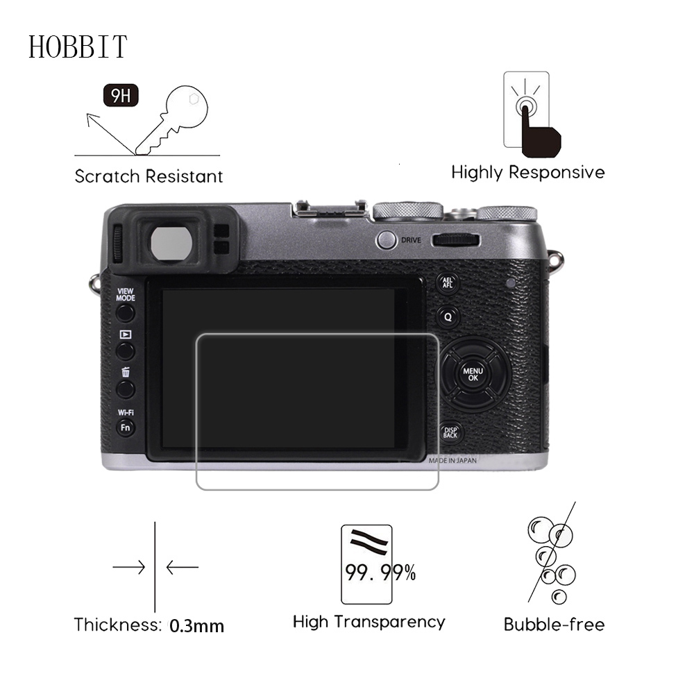 Tempered Glass Screen Protector for Fujifilm X100 X100T X100S X100F 0.3mm 9H