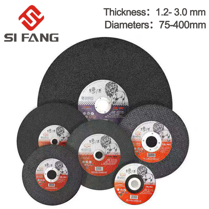 5-50Pcs 75mm/115mm/125mm/150mm/180mm Grinding Discs Metal Resin Cutting Discs Wheel Flap Sanding Discs Angle Grinder Wheel