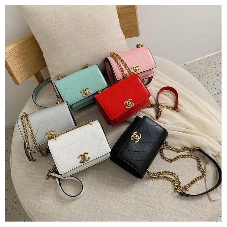 Brand C Women Chain Mini Messenger Bag Small Flap Handbag Girls Cute Coin Purse Bag Clutch Candy gg bag Luxury Money Handbag gg