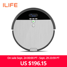 ILIFE Robot-Vacuum-Cleaner Dustbin Navigation Water-Tank Cleaning Household Sweep--Wet