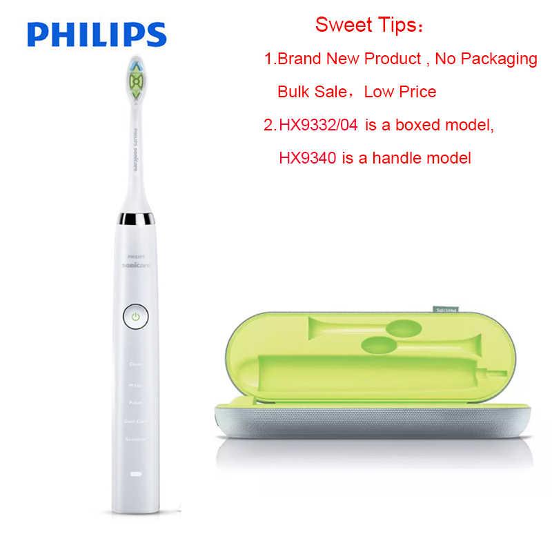 Электрическая зубная щетка philips diamondclean black