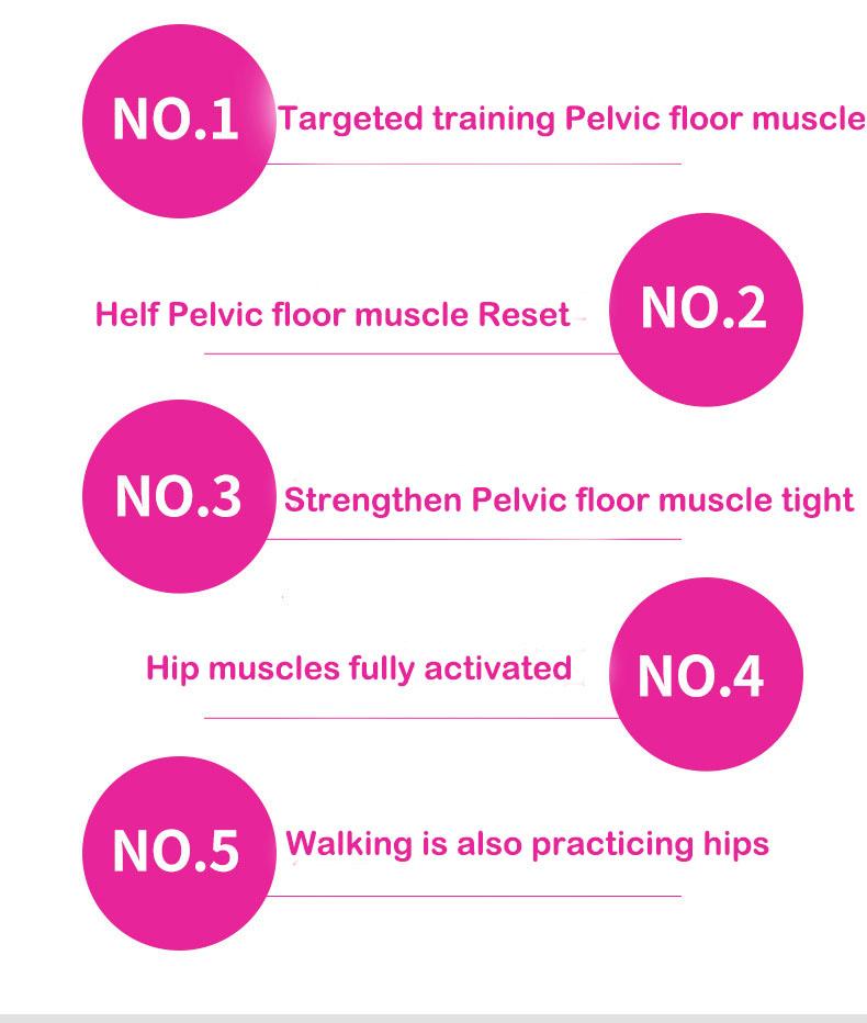 FamFun Baby Premium Kegel Exerciser Hip Trainer Correct Beautiful Buttocks for Women Pelvic Floor Muscle and Inner Thigh Exerciser