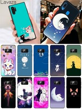 Мягкий силиконовый чехол Lavaza Moon Bunny rabbit для samsung S6 S7 Edge S8 S9 S10 Note 8 9 10 Plus(Китай)