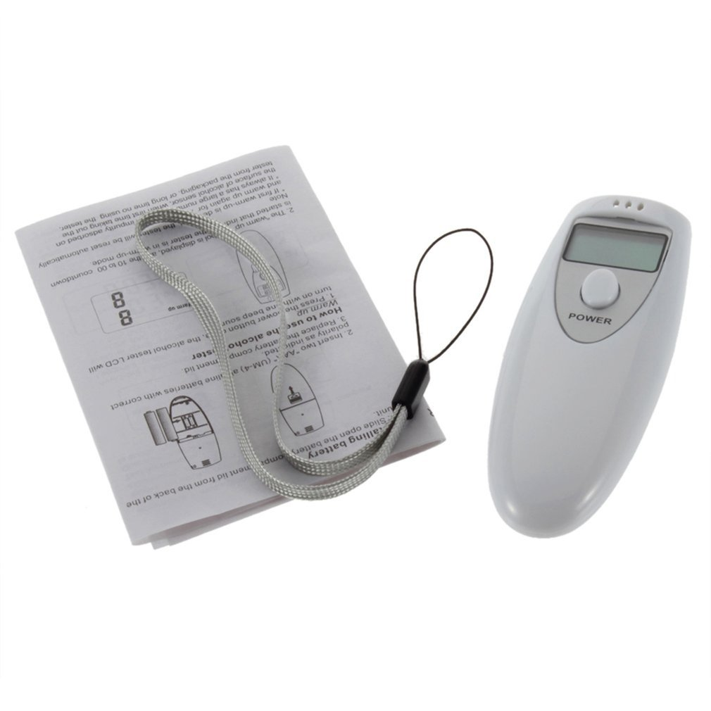 Detector Alcohol-Breath-Tester-Analyzer Digital Portable Pocket Lcd-Display Test-Testing title=