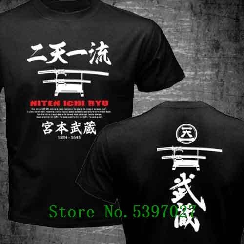 HAYABUSA NINJA LEGEND LOGO men white t-shirt 100/% cotton short sleeve