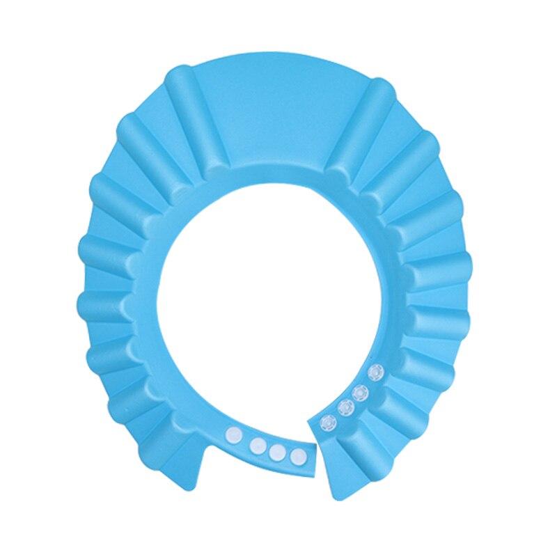Einstellbare Baby Dusche Kappe Ohr Abdeckung Bad Hut Waschen Haar D