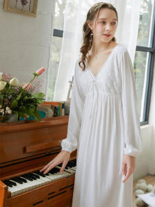 Cotton Nightgown Hom...