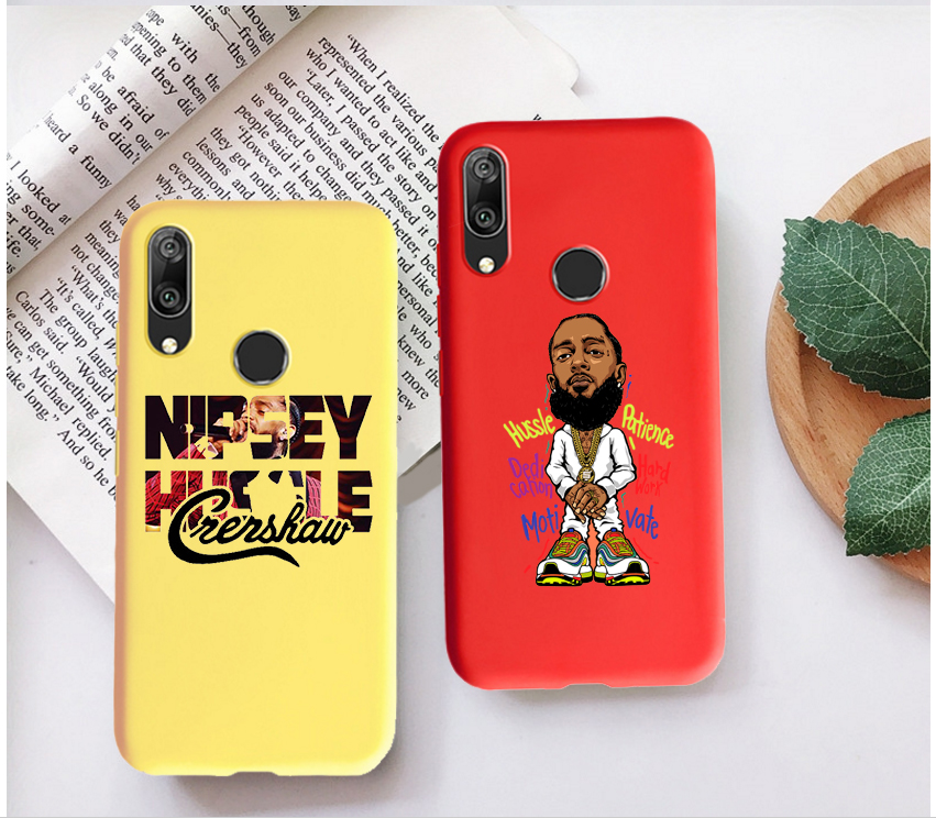 fashino Rapper Nipsey Hussle Candy Color Case for Huawei P10 P20 P30 MATE 10 20 honor 8 9 10 Smart Soft Silicone Case