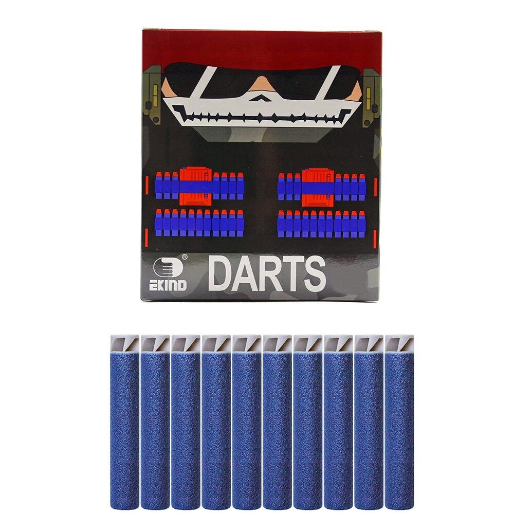 EKIND 200Pcs Suction Darts Refill Foam Bullet for Nerf N-strike Elite Guns