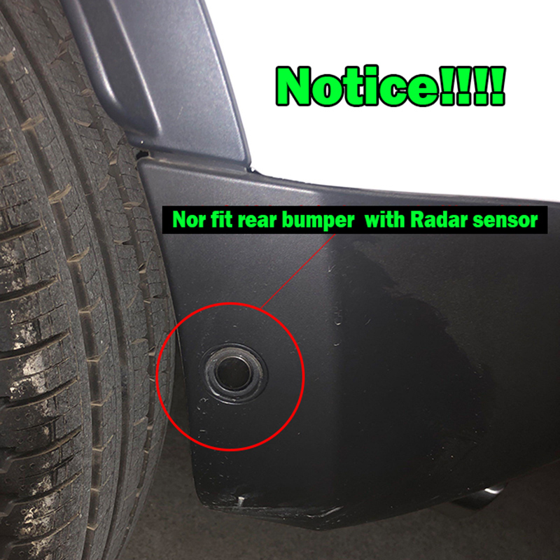 A-Premium Mud Flaps Splash Guards Compatible with Buick Enclave 2019-2020 Front and Rear 4-PC