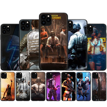PUBG Silicone Case For iPhone 7 8 Plus X XS Max XR Case For iphone 5 5s SE 2020 6 6s