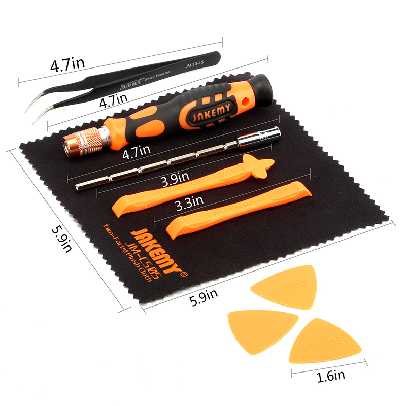Screwdriver Set with Accessory Box (6)