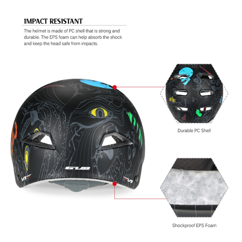 GUB V1 Unisex Professional Ultra Light Kids Bicycle Helmets Riding On Mountain Roads Outdoor Sport Riding Skating Helmets