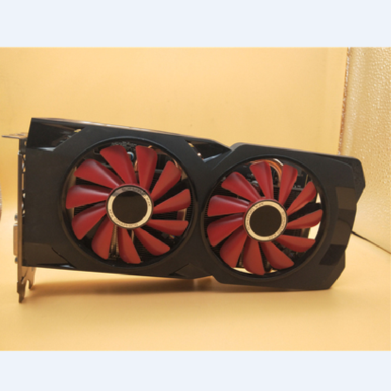 XFX used  RX 570 4GB 256bit GDDR5 desktop pc gaming graphics cards video card not  mining,RX 570 4G