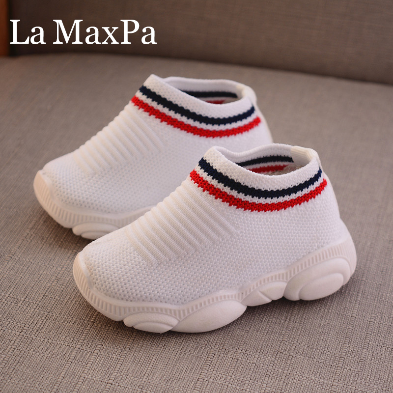 Soft Bottom Non-slip Comfortable Child Knitted First Walk Infant//Toddler Casual