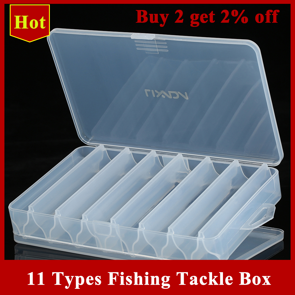 Storage-Case Hooks Lure Tackle-Sorting-Box Bait Compartments Fishing-Tool New for Pesca title=