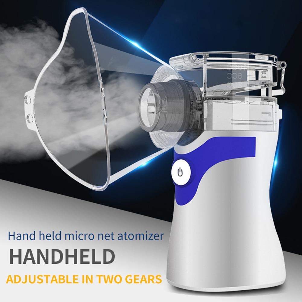 Sink Faucet - Portable Ultrasonic Nebulizer Respirator Humidifier Atomizer silent inhaler nebuliser Adults Children Home Inhaler Machine