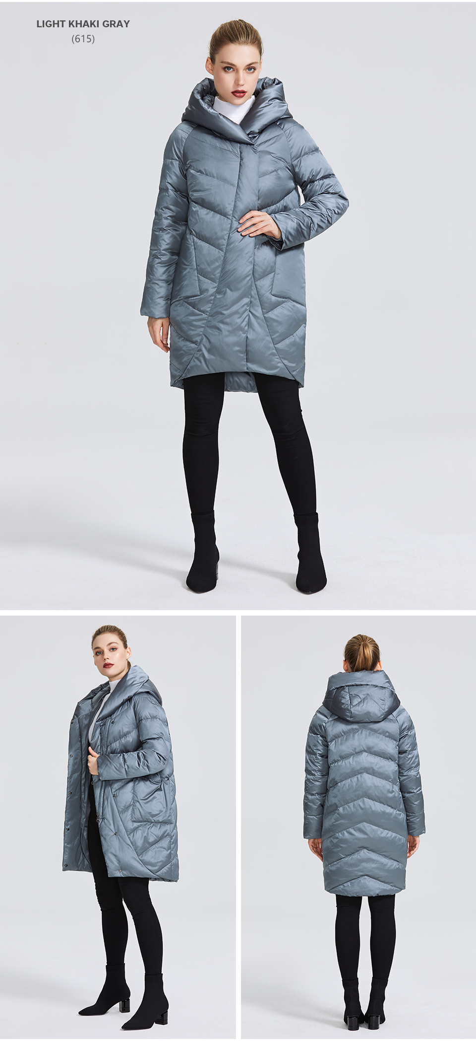 MIEGOFCE 19 Winter Jacket Women's Collection Warm Jacket With Unusual Design and Colors Winter Coats Gives Charm and Elegance 9