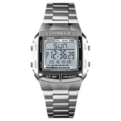 SKMEI Военные Спортивные часы электронные мужские часы лучший бренд класса люкс мужские часы водонепроницаемые светодиодные цифровые часы ...