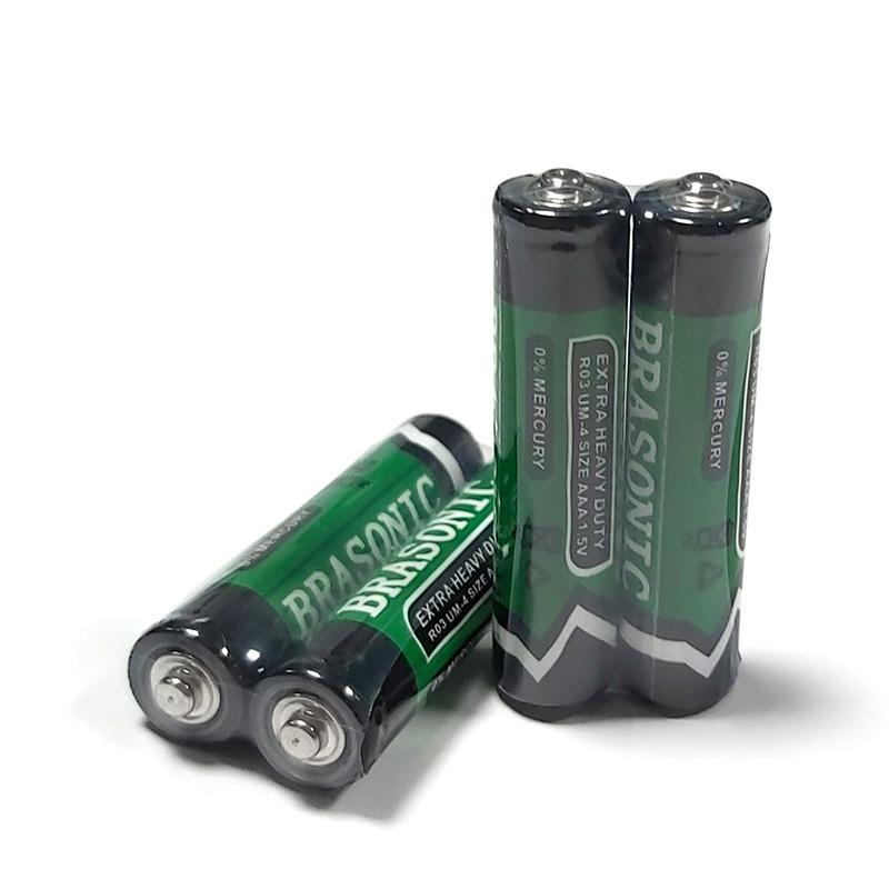2 x Battery Adapter AAA to Aa Micro Lr03 Mn2400 Mignon R6 Mn1500 Lr6 Battery