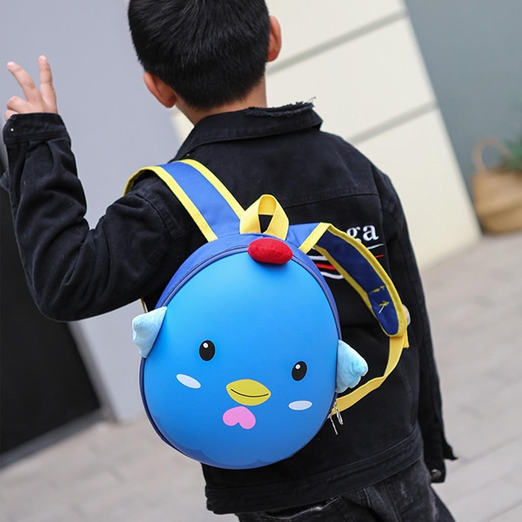 Cartoon Chicks Backpack Schoolbags Girls Cute Simple Casual Teens Women Campus College Travel Kindergarten Bags Mochila 821
