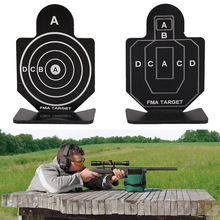 1PCS Outdoor Metal Airsoft Paintball Tactical Hunting Shooting Target Practice Accessories