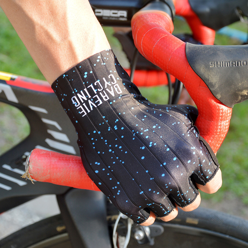 Darevie Cycling Gloves Pro Light Soft Breathable Cool Dry Half Finger Cycling Glove Anti Slip Shockproof Bike Gloves MTB Road