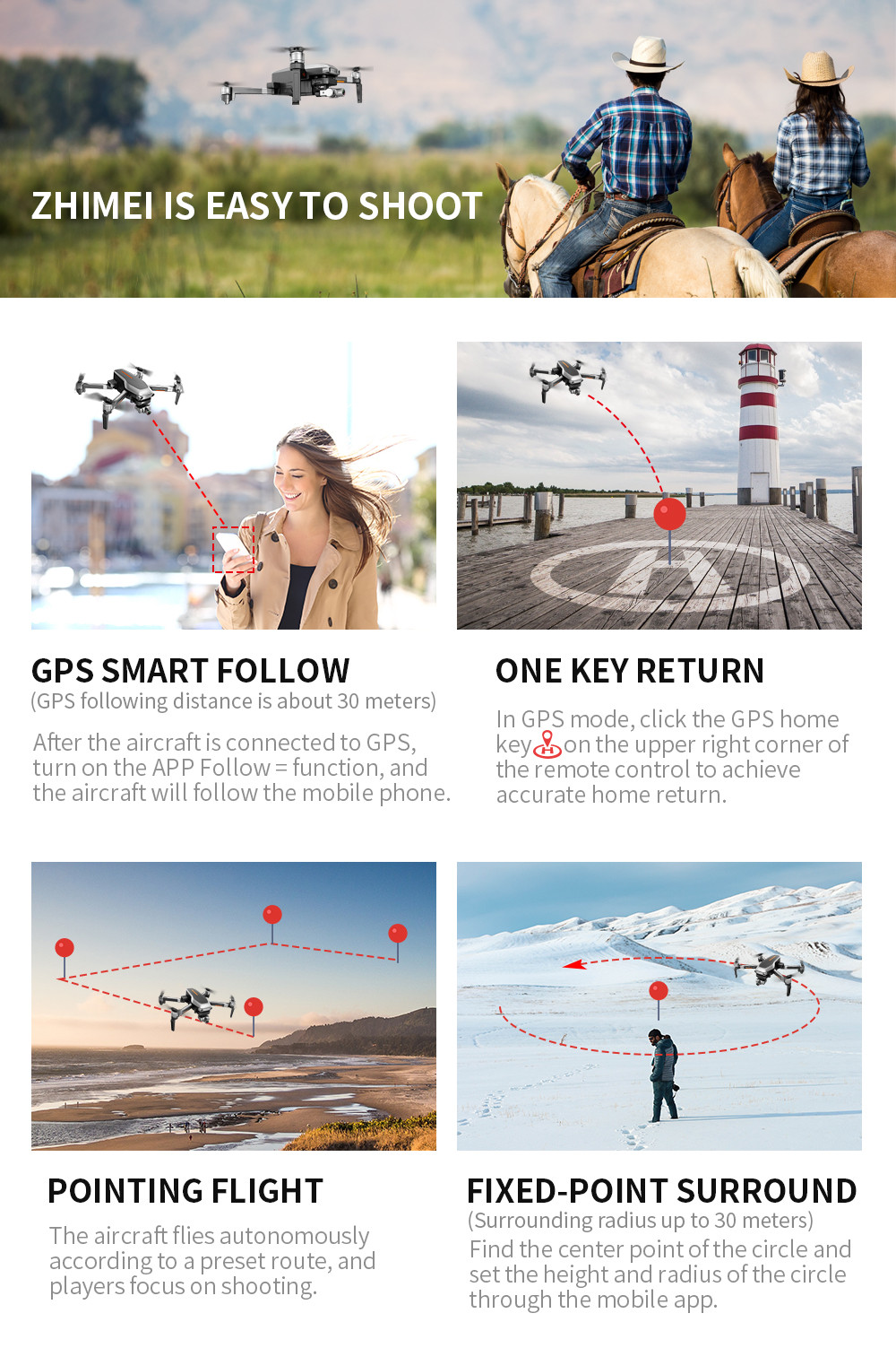 Person - L109PRO GPS Drone 4K Quadcopter HD ESC Camera Brushless 5G WiFi FPV HD ESC Camera Brushless Helicopter Long Flight Time