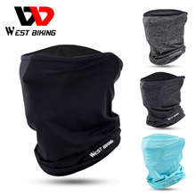 Cycling Headwear Face-Cover Sports Scarf West Biking Running Summer Breathable Anti-Sweat