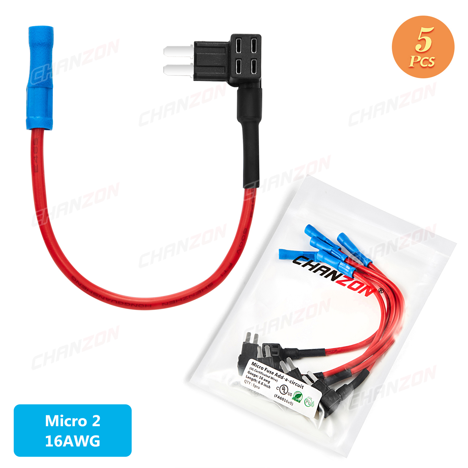 5pcs car auto fuse holder tap adapter atm micro 2 blade terminal motor  motorcycle case boxes 5v 12v 24v 32v 14 16 awg wire piggy|fuses| -  aliexpress  aliexpress
