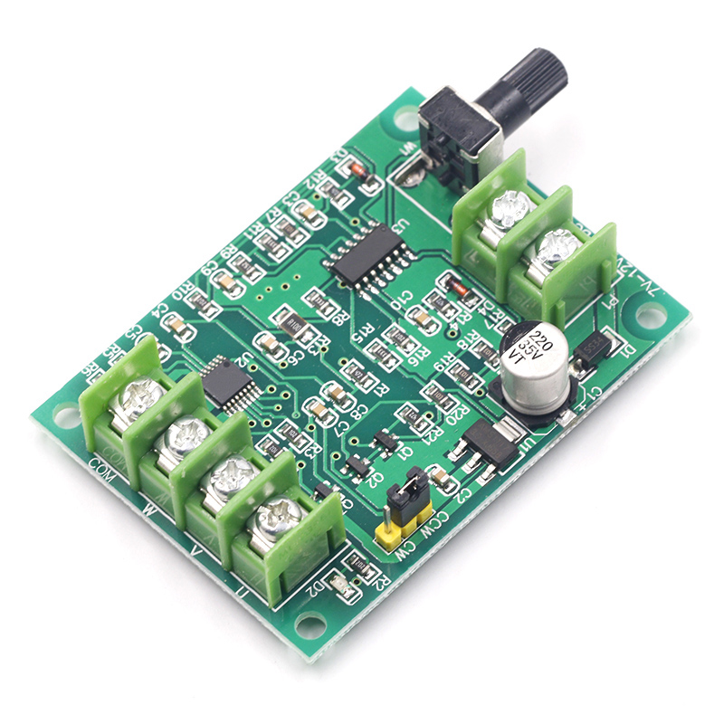 5V 12V Brushless DC Motor Driver Controller Board with Reverse Voltage Over Current Protection for Hard Drive Motor 3/4 Wire