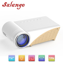 Led Projector Mini Beamer Salange Support Video Lumens 1080P P82 3D 2800 HD 1280x720p-Optional