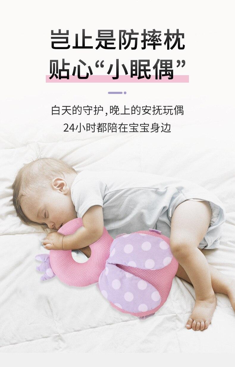SODIAL Baby Kleinkind Anti-Fallen Kissen Kissen Kopfst/ütze Anti-Kollisions Schutz Pad Schutzhelm Kissen Matte mit Sound