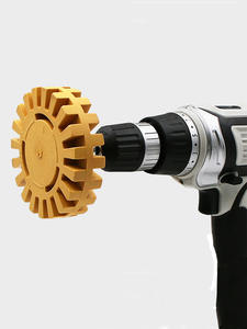 Eraser-Wheel Sticker Paint-Tool Remove-Car-Glue Rubber Auto-Repair 100MM for Adhesive