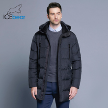 Icebear Winter Jacket Long-Coat Men Parka 16M899D Warm Thick Men's Windproof Outerwear