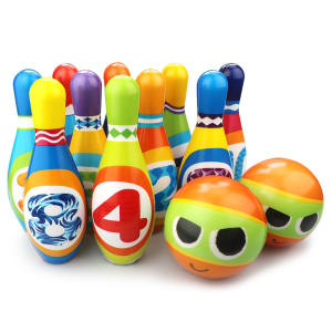Bowling-Set with 6-P...