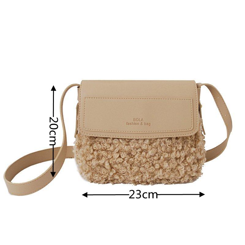 FHQHTH faux-pelz-kupplungen handtasche mode handtaschen-schulter-weinlese-abend-beutel f/ür frauen