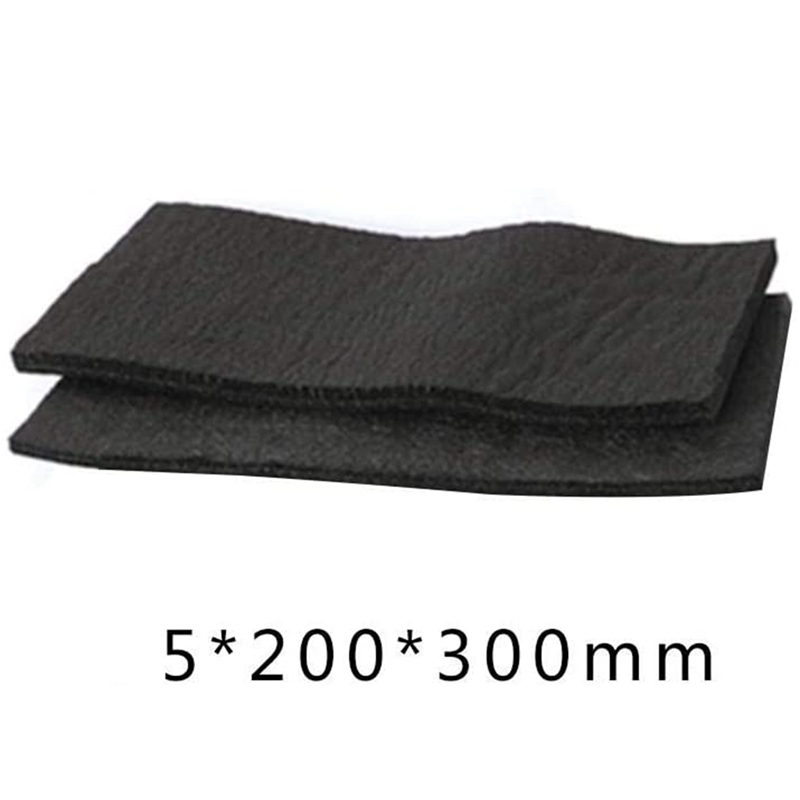 Binchil 2 Pcs Carbon Fiber Welding Blanket Torch Shield Plumbing Heat Sink Slag Fire 5X200X300mm