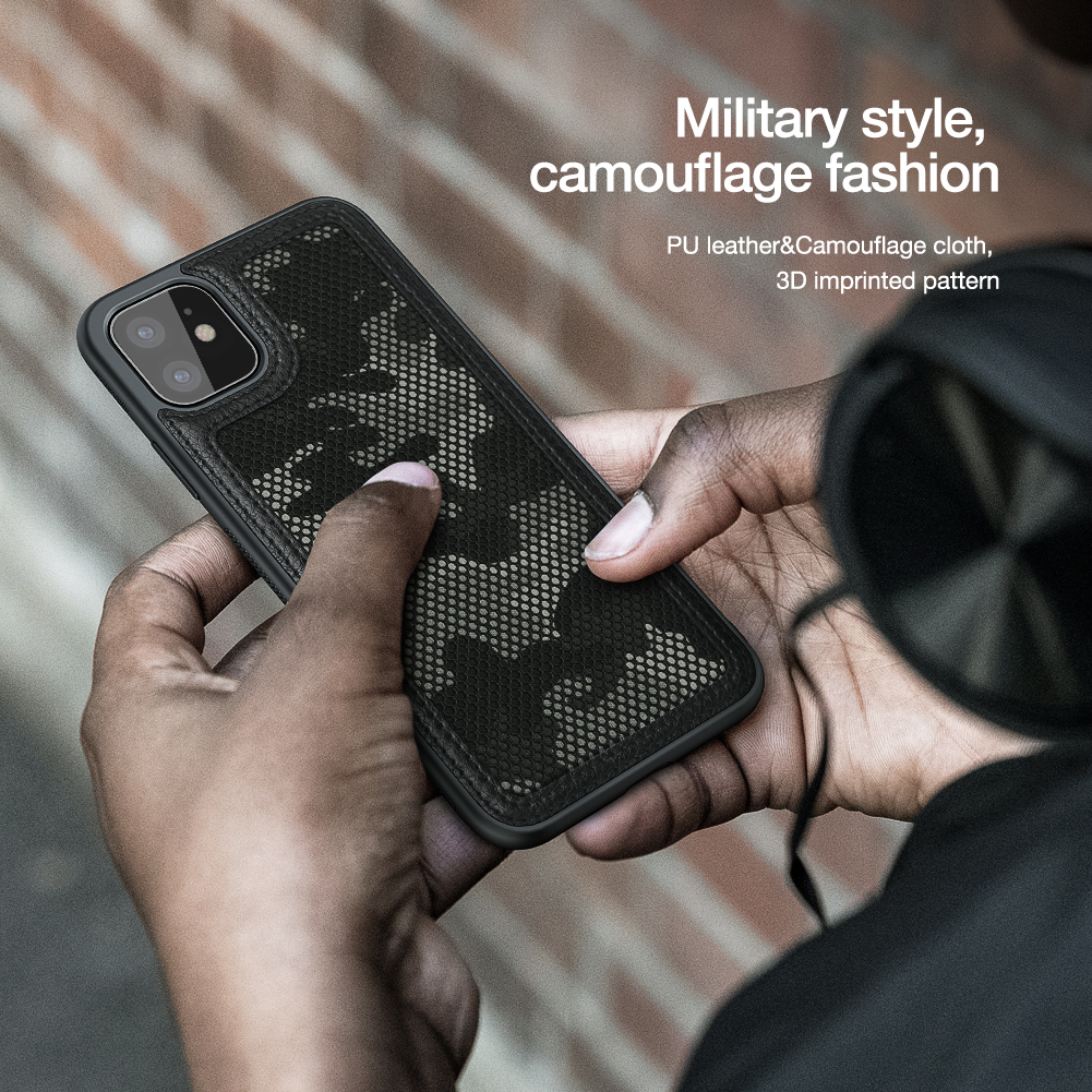 Person - For Apple iPhone 11 Pro Max Military camouflage Protector Case Shell Anti-Knock Tough Back Cover For iPhone 11