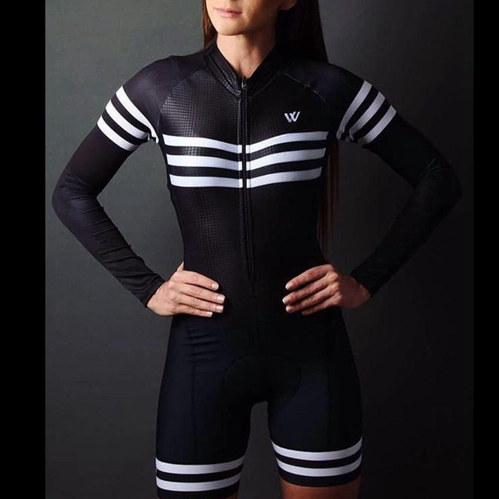 2020 hot sale women downhill bicycle jersey jumpsuit quick dry skinsuit maillot triathlon triatlon cycling clothes title=