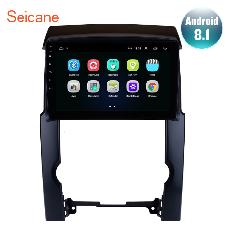 "Seicane 2din 2.5D Screen 10.1"" Android 8.1 Quad-core Car GPS Navigation Radio For 2009 2010 2011 2012 KIA Sorento support TPMS"