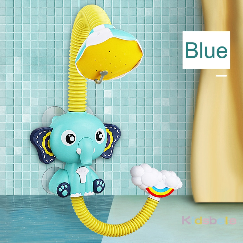 Bath Toys Baby Water Game Elephant Model Faucet Shower Electric Water Spray Toy For Kids Swimming Bathroom Baby Toys-09